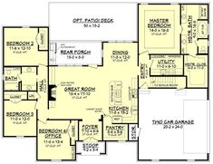 Refuge House Plan – House Plan Zone