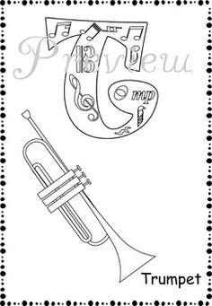594 best раскраска музыкальные инструменты images on