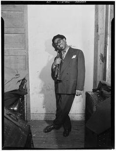 Dizzy Gillespie  by William Gottlieb. 1947