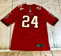 Tampa Bay Buccaneers NFL Football Jersey Darrelle Revis 24 Nike Size Large    20.00 End Date 4902200a4