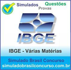 Boa noite Concurseiros, se você deseja conquistar uma das 7.825 vagas do concurso do IBGE, nos do Simulado Brasil Concurso estamos com novos Simulados e Questões.  http://simuladobrasilconcurso.com.br/questoes-de-concursos  Descubra!!! Compartilhe!!! Curta!!!  Muito Obrigado e Bons Estudos, Simulado Brasil Concurso  #SimuladoBrasilConcurso, #SimuladoIBGE