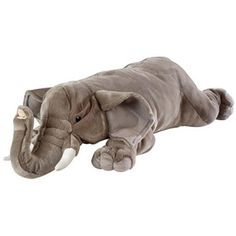 Cuddlekins Jumbo African Elephant 30 inch  - K & M International -  Other Animals - FAO Schwarz®