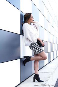 Trend-Vorschau: Karo – So stylst du das Trendmuster in H/W 2017 #trend #fashion #mode #herbst #winter #rock #schuhe