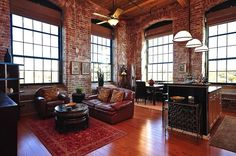 The Lofts at Mills Mill, South Carolina 7 Lofts That Will Bring Out The Green-Eyed Monster in You! in | Home | Hand Luggage Only