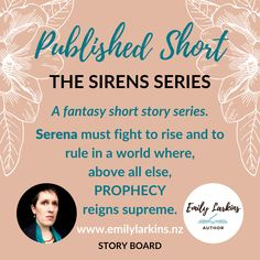 Short Fantasy Story - The Sirens Series - By Emily Larkins. The Siren Moon, The Sire Sun, The Siren Lights, The Siren Storm. Enter a world of Sirens and discover the events that shape their lives. At 1500 words per story, these stories are perfect for a lunch break read. #shortfantasy #shortstory #thesirensseries #thesirenmoon #thesirensun #thesirenlights #thesirenstorm #emilylarkinsauthor #emilylarkins #shortread #amazon #amazonkindle #kindlereads #kindle #siren #mermaid #comingofage