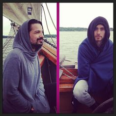 #ShareIG Wrapped up on the MARS sailing trip with @tomofromearth + @JARED LETO #marsinfinland
