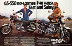 The Suzuki GS550