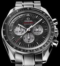 Wijzerplaat uit meteoriet: Omega Speedmaster Professional Apollo-Soyuz - Horloge.info Nieuws
