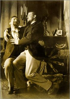 antique-erotic: irreverentpsychologist:This very well might be my favorite picture of vintage men yet. It is indeed a very endearing shot! Lgbt Couples, Cute Gay Couples, Couples In Love, Vintage Couples, Vintage Love, Vintage Men, Lgbt History, History Facts, Art Of Man
