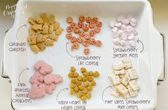 Happy Organized Life: Valentine's Toddler Snack Mix