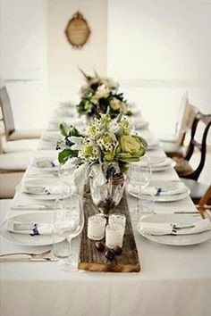 rustic wedding table runners