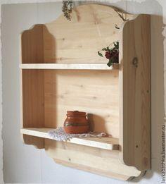Мебель ручной работы. Полка деревянная в кантри стиле. *Лавка Башира* игрушки, дом, йога. Ярмарка Мастеров. Полка кантри
