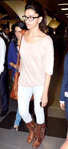 Deepika Padukone returns from Macau #Bollywood #Fashion