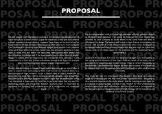 Contextual study proposal