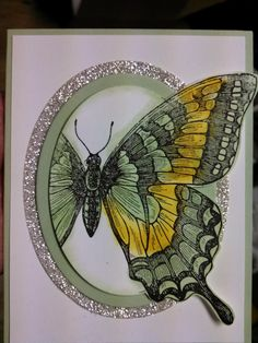 STAMPIN UP SWALLOWTAIL PINTEREST | Stampin' Up! Shimmering Butterflies