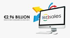ez sales by Andrew Dewdney , via Behance Sales Strategy, Web Design, Graphic Design, Online Marketing, Behance, How To Plan, Design Web, Website Designs, Visual Communication