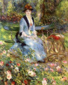 RENOIR  ( 1841 - 1919 ) .  AMAZING , DIVINE  ARTE ........