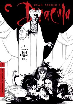 Bram Stoker's Dracula (1992) • Directed by Francis Ford Coppola • Fake Criterion  Faked From The Dead!  Artwork by Mike Mignola