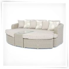 Creative Living Monterey Wicker Sofa Day Bed