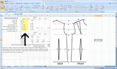 Free Pattern Drafting Calculator for Your Measurements  http://grosgrainfabulous.blogspot.com/2013/08/free-pattern-drafting-calculatorand-my.html