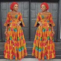welcome to another new week, a lot of lovely styles were seen during the weekend, especially styles made with Ankara prints/ African Ankara fabric. Latest Ankara Fashion Style Gowns, Dresses and Tops Latest Ankara styles 2018 African Dresses For Kids, Latest African Fashion Dresses, African Dresses For Women, African Print Fashion, African Attire, Ankara Fashion, African American Fashion, Ankara Maxi Dress, Maxi Gowns