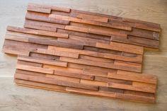 houten robuuste wandbekleding mooi voor in loft industrieel en robuust wonen.