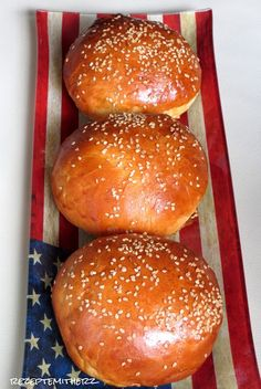 Rezepte mit Herz ♥: Brioche Burger Buns