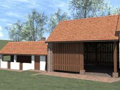 A közösségi térré alakítható pajta / Zum Gemeinschaftsraum umfunktionierbare Scheune Shed, Outdoor Structures, Outdoor Decor, House, Home Decor, Houses, Barn, Decoration Home, Home