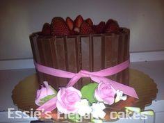 My birthday Kitkat cake