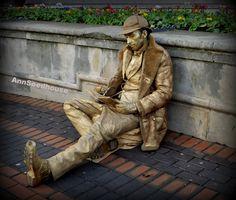 https://flic.kr/p/qs1UrM | Living Statue | Birmingham  in explore