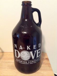 Naked Dove Brewing Company NY 1/2 Gallon Growler