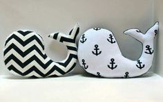 Items similar to Modern baby Chevron WHALE pillow - nautical nursery decor grey gray white plushie - shower gift for new mom on Etsy Nautical Nursery Decor, Modern Nursery Decor, Nautical Baby, Baby Decor, Baby Shower Decorations, Baby Chevron, Nursery Design, Nursery Ideas, Whale Nursery