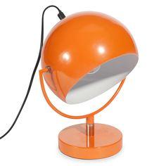 Lampe aus Metall orange H 26 cm CAPSULE