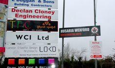 Husaria Wexford - Alluminium Banner