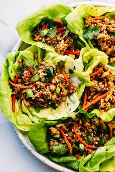 # Food and Drink healthy lettuce wraps Asian Turkey Lettuce Wraps Asian Turkey Lettuce Wraps, Lettuce Wrap Recipes, Turkey Wraps, Thai Lettuce Wraps, Lettuce Cups, Lettuce Wrap Ideas, Lettuce Salads, Veggie Wraps, Turkey Recipes