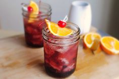 Simply Scratch » Shirley Temples with Homemade Cherry Grenadine