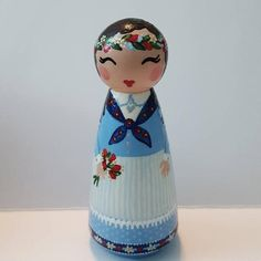 Items similar to Hand Painted Love Boxes Danish Denmark Peg Doll Wood on Etsy Love Box, Custom Wedding Cake Toppers, Clothespin Dolls, Kokeshi Dolls, Little Doll, Birthday Cake Toppers, Doll Crafts, Denmark, Danish