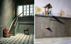 Small Worlds: Creative Miniature Scenes by Frank Kunert #inspiration #photography
