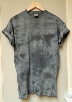 Tie Dye T-Shirt acid wash T-shirt hipster Retro by TIEDYETOPSHIRTS