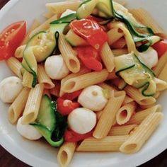 Zucchini Caprese   A new take on the classic caprese salad.