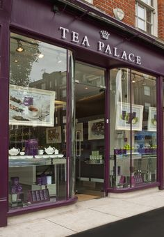 Tea Palace in Covent Garden - 340 Kings Road Tea Live, Tea Places, 2016 Goals, Buy Tea, Tea Kettles, Cuppa Tea, London Places, Covent Garden, Public Spaces