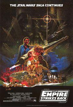 STAR WARS: EPISODE V - THE EMPIRE STRIKES BACK (1980) Movie Poster