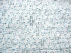 Floral Screen Print  Soft Cotton Fabric Sold by Yard