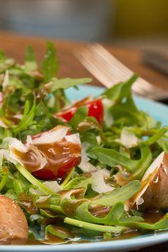 Der Salatsoßen-Klassiker schlechthin: Balsamico-Senf-Honig-Dressing