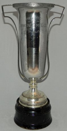 Circa 1920s, Rawlings Sporting Goods Loving Cup Style Trophy