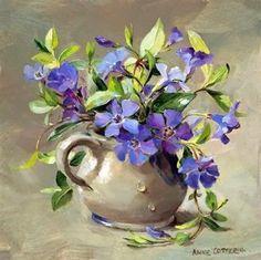 L artiste peintre Anne Cotterill