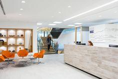 Interior design of BGC Engineerings office at 980 Howe in Vancouver