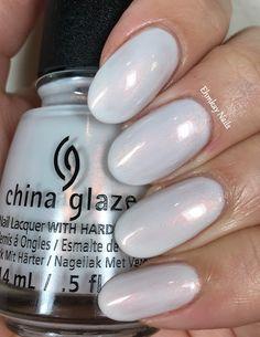 ehmkay nails: China Glaze Seas and Greetings, Swatches and Review. China Glaze Snow Way