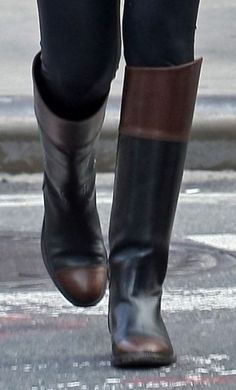 Chanel riding boots.. These are beautiful... Oh my goodness. I NEED THESE.
