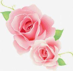 Предпросмотр схемы вышивки «розовая роза»